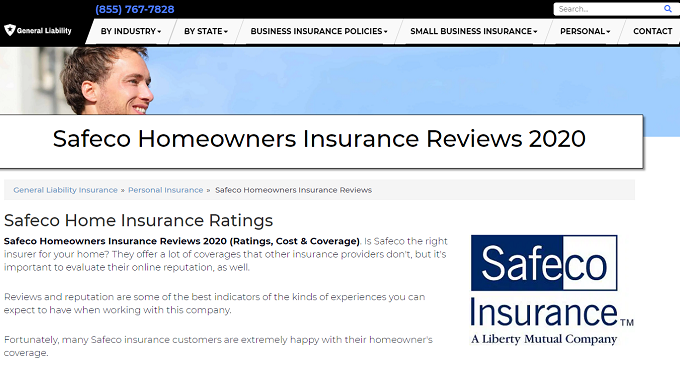 Safeco Home Insurance Reviews